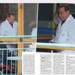 Silvio Berlusconi a Cesano Boscone gioca con i malati