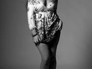 Elisa d'Ospina la modella delle taglie comode