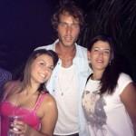 Manfredi Ferlicchia ad una serata con le fans