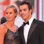Luca Marin insieme all'ex fidanzata Federica Pellegrini